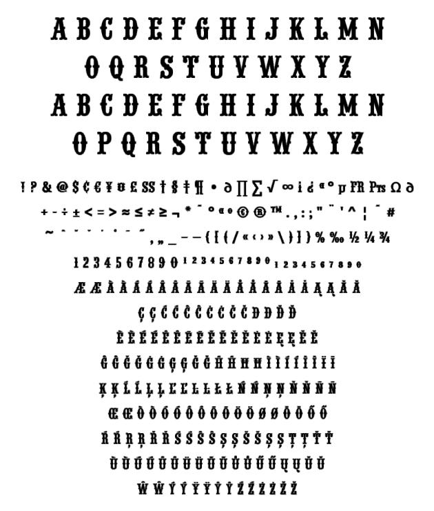 582c8ca267763 T.26 Digital Type Foundry | Fonts : Wood Type URW