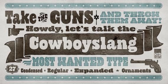 Cowboyslangbillboard
